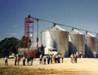 Barry Smith Australian grain handling facility at Ariah Park
