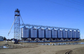 Prairieview seed storage features a 'gentle handling' system to prevent product damage