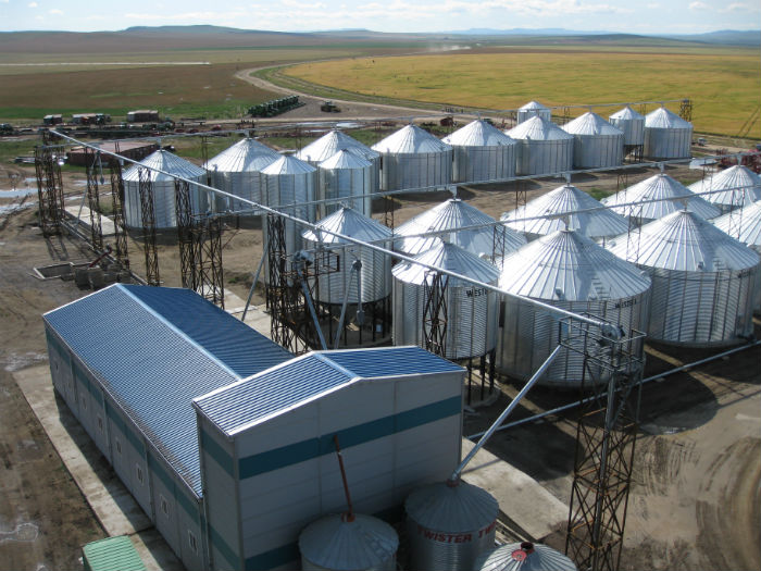Northern Mongolia grain handling facility