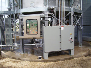 Grain Dryer control console
